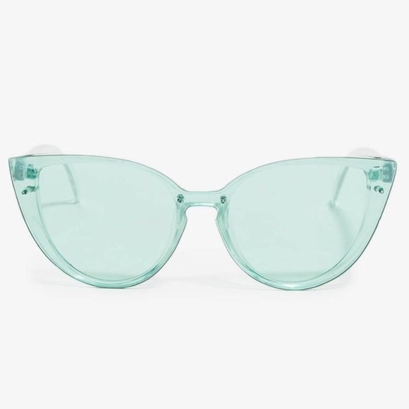 2c45f15e814d Mint Green Pastel Cat eye Sunnies